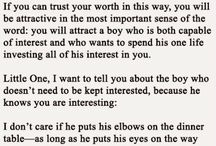 Keep him interested