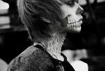 kostry,zombie