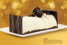Bûches de Noël 2014 / Nos bûches de Noël édition 2014 sont désormais disponibles sur réservation ! Offertes en 4, 6, 8 ou 10 portions, épatez famille et amis avec l'une de nos 6 saveurs vraiment gourmandes.  Commandez dès maintenant, au comptoir ou encore par téléphone, au 418-692-1221.