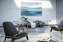 Eames Lounge Chair / This board contains pictures of the classic Eames lounge chair