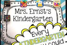 Kindergarten iPads...