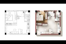 3D Floorplans & Renderings
