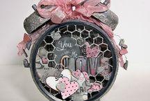 Mixed Media Art Inspiration- Valentine's Day
