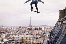 skate et sport de glisse