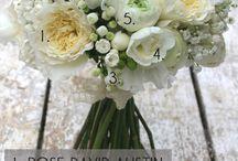 bouquets blancs