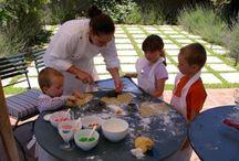 Kids at River Bend Lodge