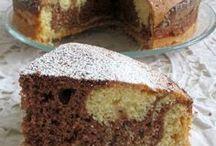 torta con nutella e cioccolato bianco