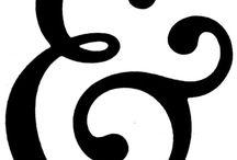 Ampersands / Ampersands, Typography