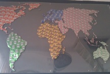 Map of the World Projects / Making your own version of The Map of the World.