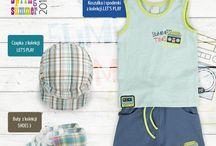 Kolekcja LET'S PLAY dla chłopca / Koszulka, krótkie spodnie i czapeczka z kolekcji LET'S PLAY