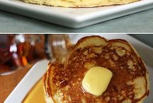 Pancakes and breakfast