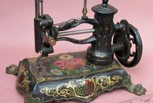 Antique Sewing Machines / by Donna