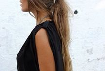 the perfect ponytail & Hair Love♡