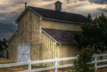 Barns / by Joanie Lawrence-Cain