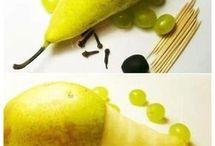 Zvířátka z ovoce