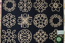Celtic knots quilting