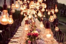 Bryllup / Borddekoratiom