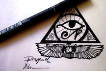 Ehyptian tattoo