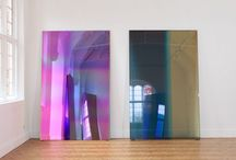Mirrors and artworks