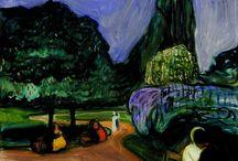 landscapes by Munch, Matisse, Kandinsky, Vuillard & other moderns