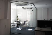 Glass Partitions / Partitions are all manufactured to accommodate your requirements.  Glass, Timber and Aluminium.