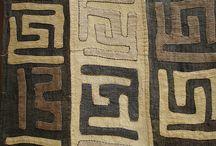 africké textílie