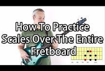 Scales & Arpeggios for Bass Guitar - Talkingbass Lessons / Loads of lessons on scales & arpeggios for bass guitar from Talkingbass.net