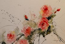 Flowers paintings / Picturi cu flori