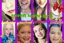 Seven super girls