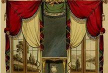 Σχέδια κουρτινών 1807 / θεωρούμε ως δεδομένο ότι ένα σπίτι θα έχει κουρτίνες σε όλα τα παράθυρα και κάποιες φορές και διπλές, αλλά πριν τον προηγούμενο αιώνα, δεν ήταν και τόσο δεδομένο. Και ο λόγος είναι ότι η κουρτίνες ήταν πολύ ακριβές και μόνο τα παλάτια και τα αρχοντικά σπίτια είχαν κουρτίνες. Ο υπόλοιπος κόσμος δεν είχε την οικονομική δυνατότητα να εχει κουρτίνες. Γιούλη Μαραβέλη τηλ 2221074152
