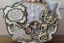Bastelshop:  www.hobby-crafts24.eu / Wir möchten gerne diesen Bastelshop zeigen, mit viele creative Ideen, projekte mit Stanzschablonen, Stempel, Vintage, Shabby chic, Kartengestaltung, Scrapbooking usw..