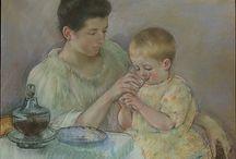 arte - Mary Cassatt (1844-1926) / arte - pittrice americana