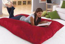big bean pillow