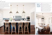 Kitchen / Love these light fixtures over some open shelves or a window