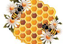 Мед, пчелы