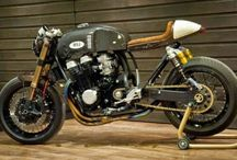 Cafè racer-motorcycles / Cool Cafè racers :-)