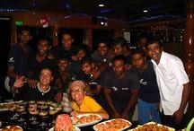 NATALE ALLE MALDIVE IN CROCIERA / CENA DI NATALE 2014 A BORDO DEL MY CONTE MAX E MY DUCA DI YORK