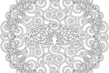 COLORIAGE -COLORING / by Chantal Patry