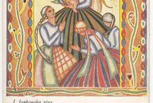 Polskie pocztówki świąteczne