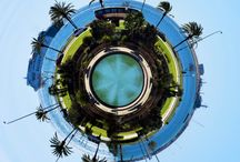 Tiny Planets / Photos turned into little planets