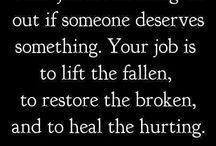 lift the fallen