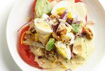 Recipes - Salad / by Courtney Baumgardt McDuffie