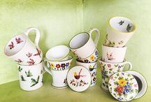 Bontempo ceramiche 1862 Tazze, Tisaniere, Mug / Tazze fumanti raccontano storie di tè.....in tante forme e decori....ideali per la colazione o come simpatico regalo.....