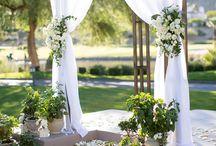 Outdoor wedding ceremonie - Kültéri szertartás