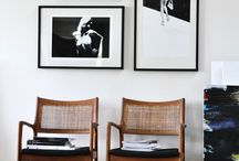 Gallery walls / Art walls, art collections, gallery walls, framed photographs, groups of canvases - all are here on big walls, small walls, tiny spaces and nooks for display inspiration in your home.