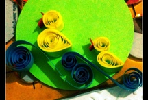 Paper Quilling by Me / All about paper quilling that I made