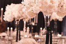 L'art floral pour les fêtes / Les plus belles déco de fleurs, bouquets, pour mettre les tables en valeur.