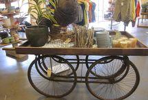 Bike shop decor / Decor