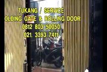 TUKANG SERVIS FOLDING GATE HARMONIKA PANGGILAN - 081280350050