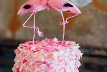 Pink Flamingo Love / by JaderBomb